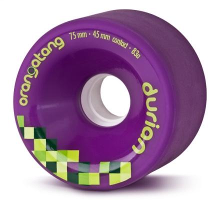 Orangatang Durian Purple Longboard Wheels