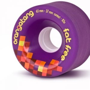 Orangatang Fat Free Purple Wheels