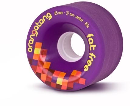 Orangatang Fat Free Purple Wheels