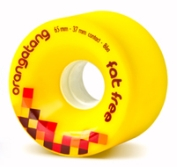 Orangatang Fat Free Yellow Wheels