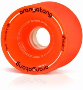Orangatang 4 President Orange 70mm Longboard Wheels