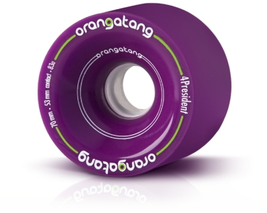 Orangatang 4President Purple 70mm Longboard Wheels