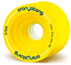 Orangatang In Heat Yellow Wheels