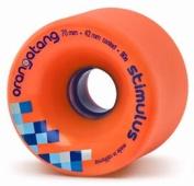 Orangatang Stimulus Orange Longboard Wheels
