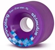 Orangatang Stimulus Purple Wheels