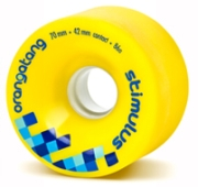 Orangatang Stimulus Yellow Wheels
