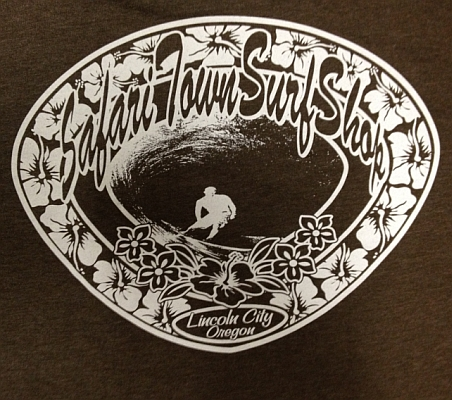 Safari Town Original Logo Tee Brown