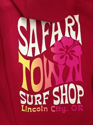 Safari Town Sherpa Fleece Day Dreamer Zip Hoodie