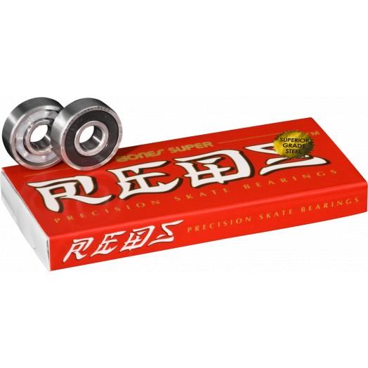 Bones Super REDS Bearings (8 pack)