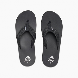 Men's Reef Black Smoothy