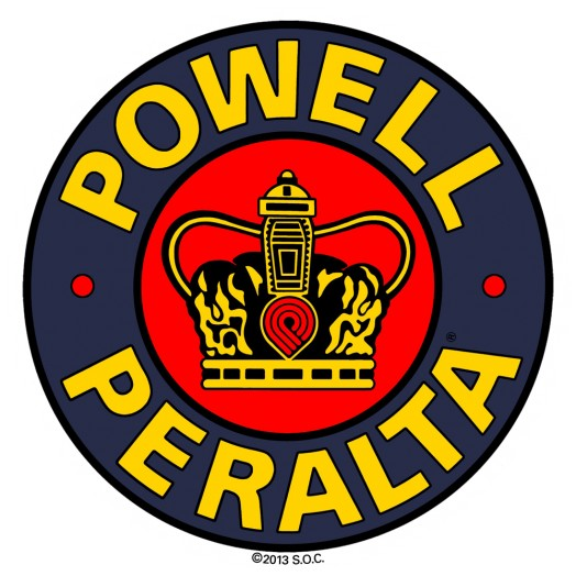 Powell Peralta Supreme 3.5 inch Sticker single