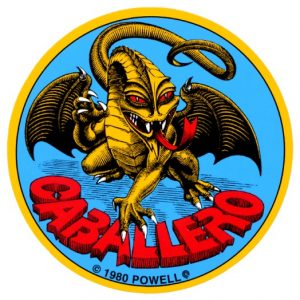 Powell Peralta Cab Original Dragon Sticker (Single)