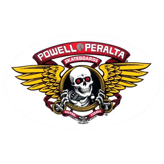 Powell Peralta Winged Ripper Sticker (Single)