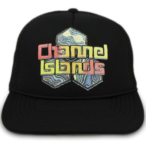 Channel Islands Surfboards Black Water Color Trucker Hat