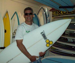 Custom Channel Islands Surfboards
