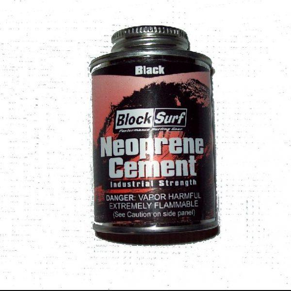 Black Neoprene Wetsuit Cement