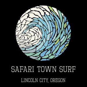 Safari Town Women's Mosaic Wave T-Shirt