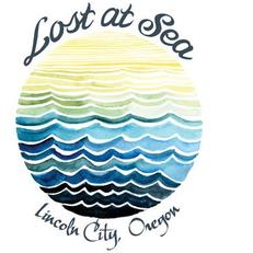 Lost at Sea in Lincoln City Sticker