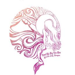 Find me by The Sea in Lincoln City Oregon Sticker
