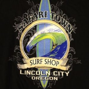 Safari Town Surf T-Shirt Island Gun