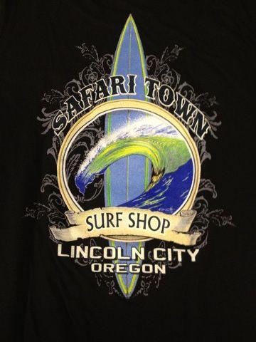 Safari Town Surf T-Shirt Island Gun