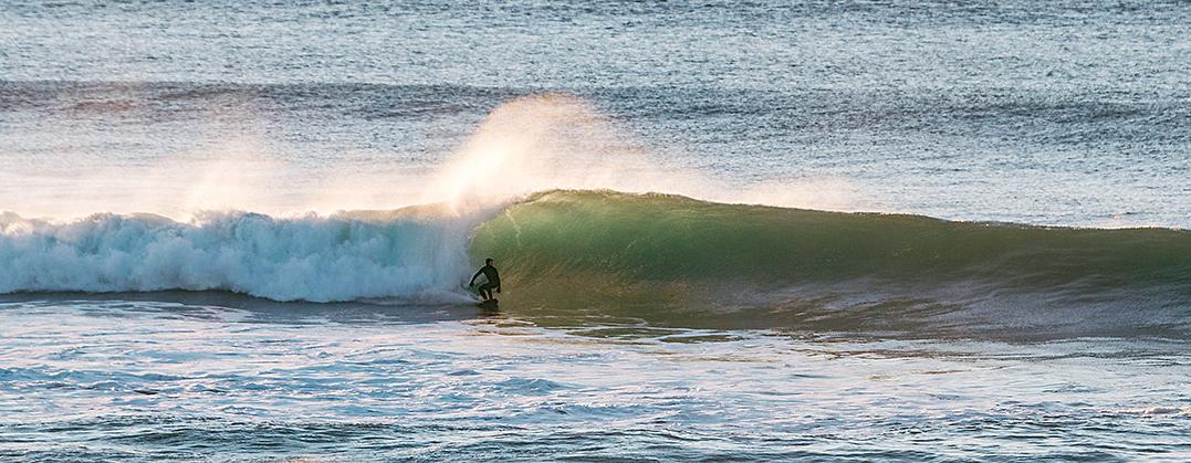 Kevin Gile Surfing Lincoln City