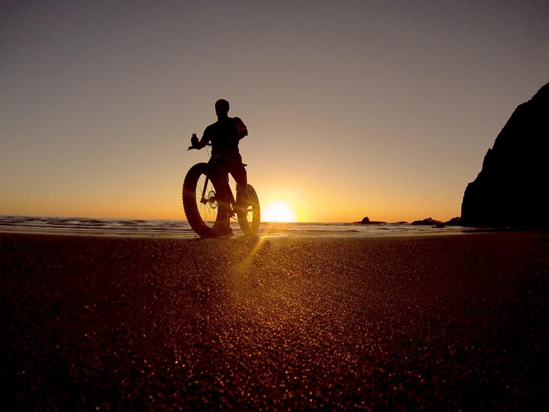 Oregon Coast Fat Tire Bikes on the Beach
