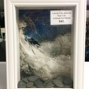 Oregon Coast Lookout Shadow Box Photo