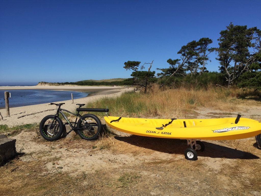 Oregon Coast Kayak fishing