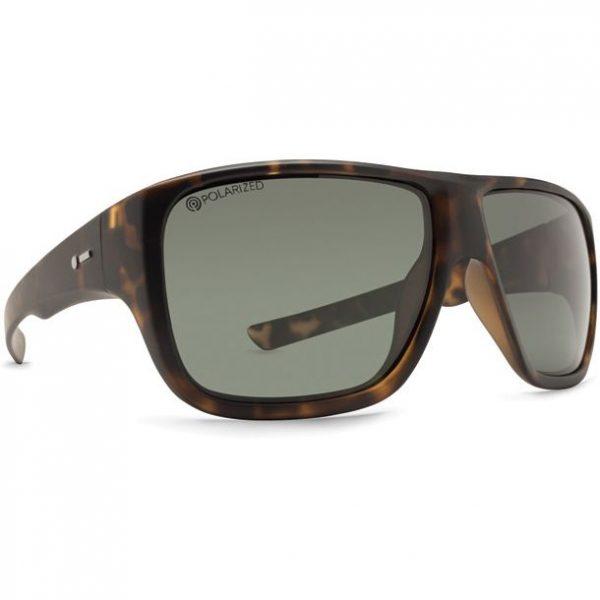 Dot Dash Aperture Tortoise Gloss Grey Polarized Sunglasses