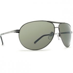 Dot Dash Buford T Charcoal Grey Chrome Sunglasses