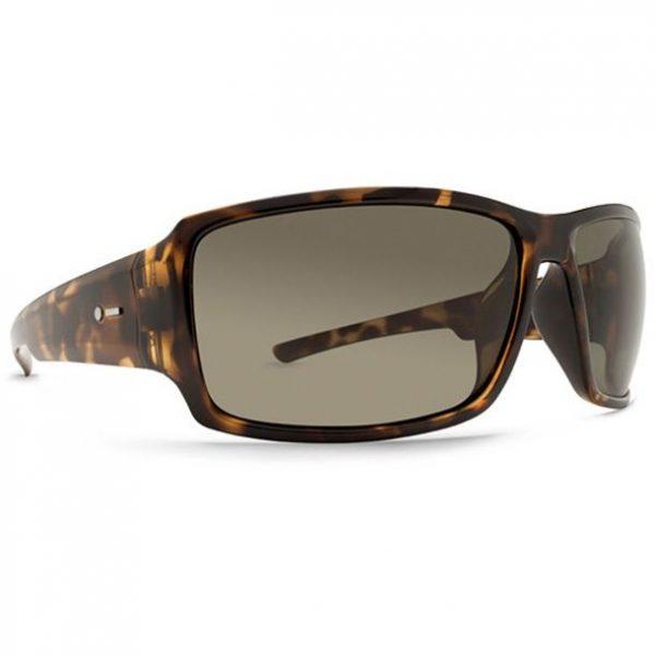 Dot Dash Exxellerator Tortoise Satin Retro Grey Sunglasses