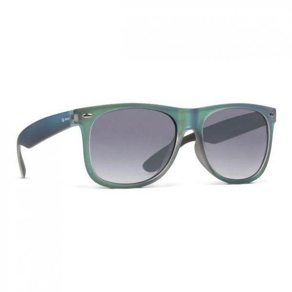 Dot Dash Kerfuffle Metallic Teal Satin Sunglasses