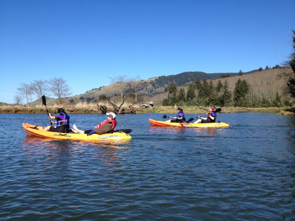 Safari Town Kayak Tours Lincoln City Oregon