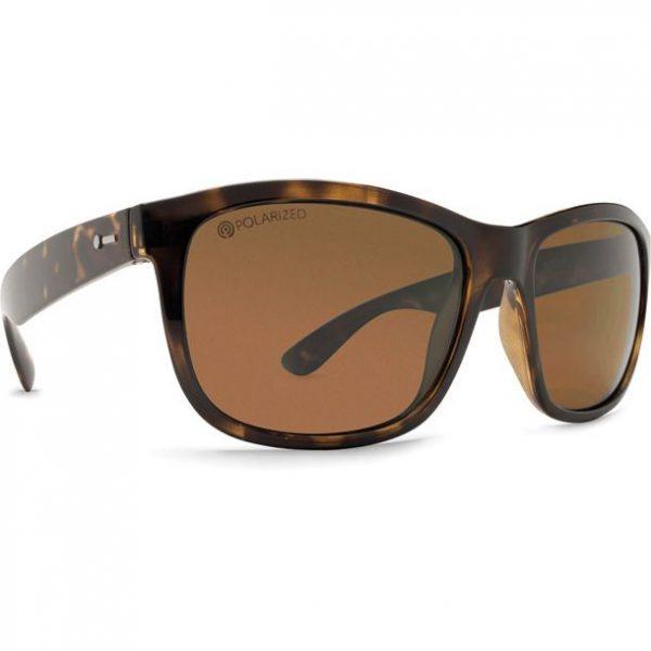 Dot Dash Poseur Tortoise Satin Bronze Polarized Sunglasses