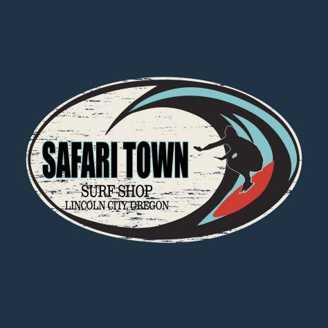 Safari Town Wild Surf Tee