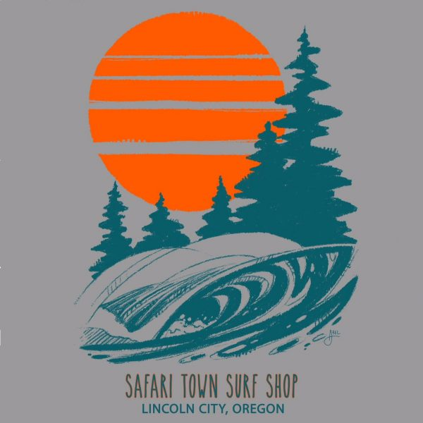 Safari Town Women's PNW Tee