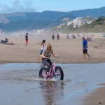 Siletz Bay Fat Bike Ride Lincoln City Oregon