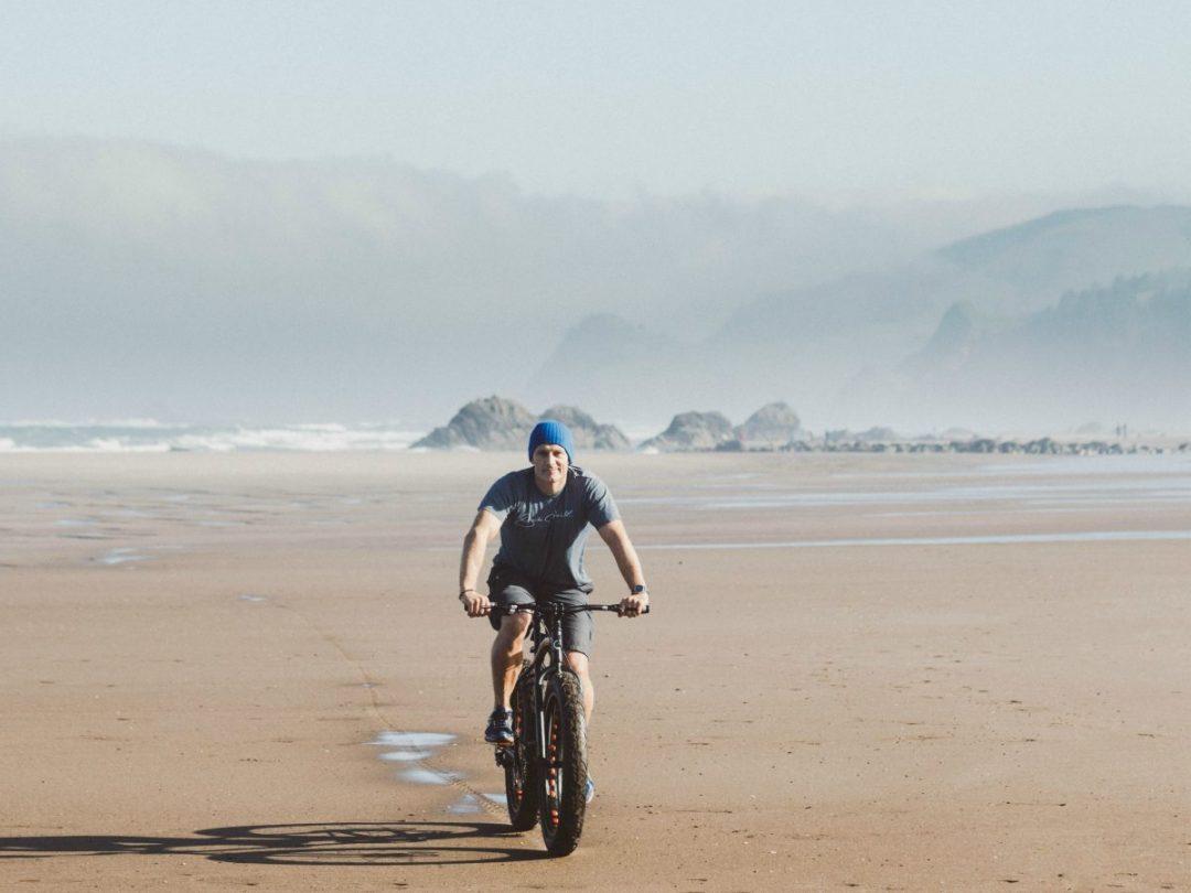 Roads End Fat Bike Beach Ride Lincoln City Oregon