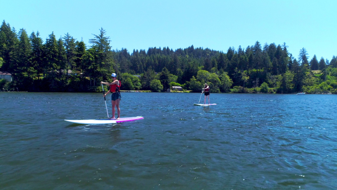 Stand up Paddle Board Rentals & Lessons Lincoln City Oregon