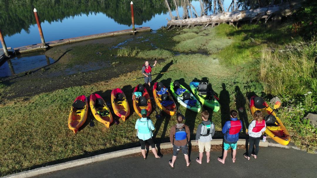 Lincoln City Kayak Tours