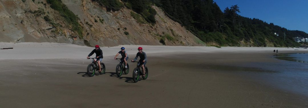 Roads End Fat Bike Beach Ride Tour