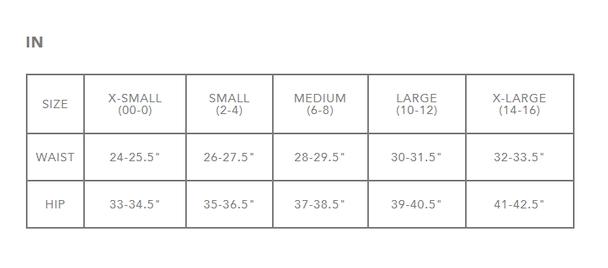 Dakine Women's Size Chart 3