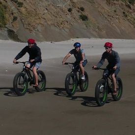 Oregon Coast Guided Fat Bike Tours