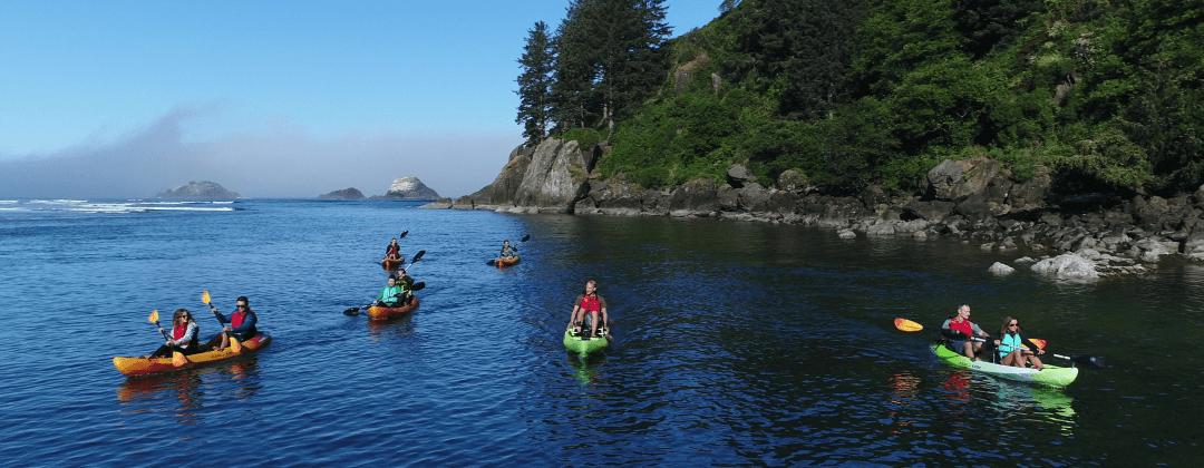 Kayak Tours Lincoln City Oregon
