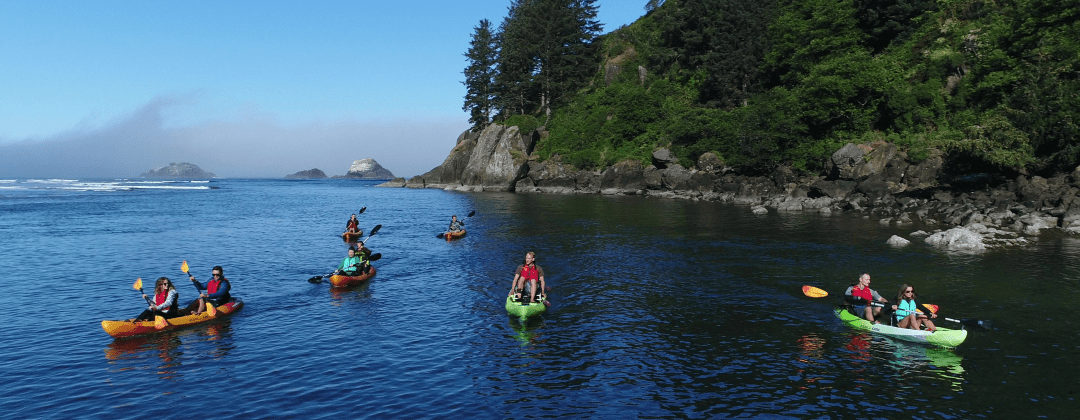 Kayak Tours Lincoln City Oregon