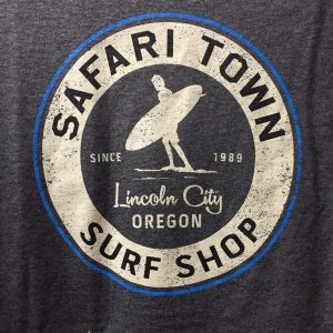 Safari Town Surf Full Circle Tee Shirt