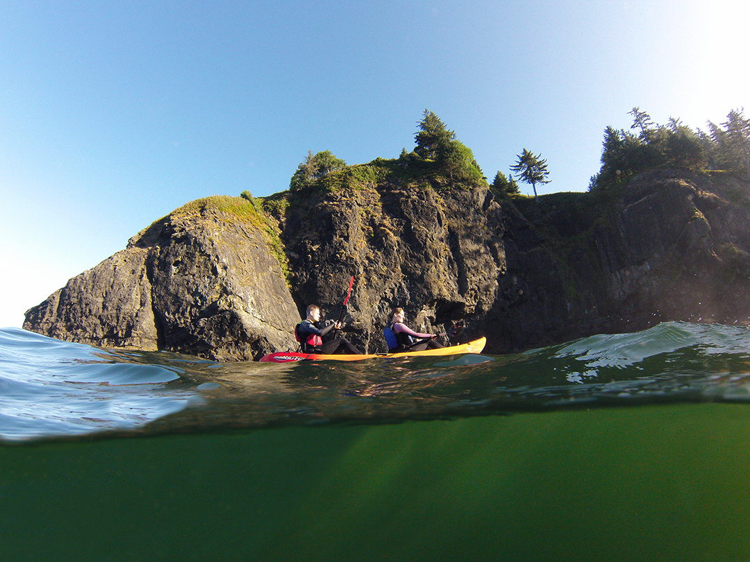 Guided Kayak Tours Lincoln City Oreogn