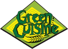 Green Cuisine vegetarian meat logo