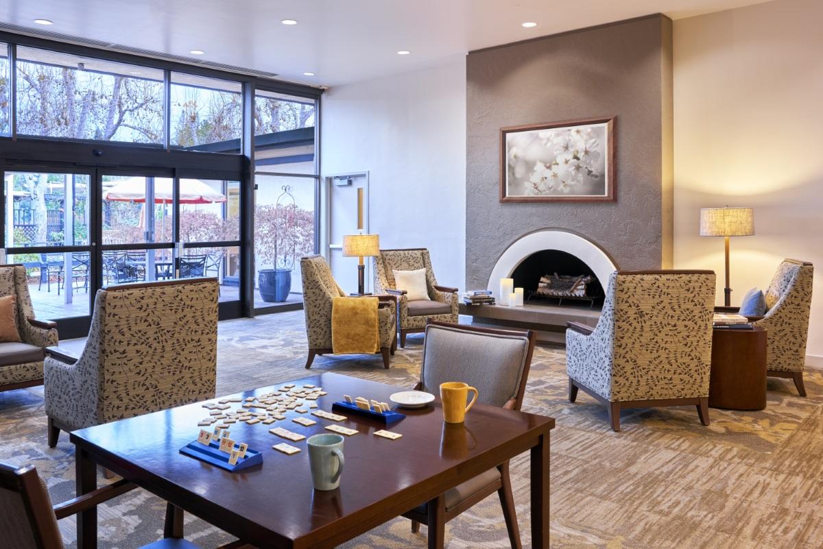 The Sequoias Portola Valley Skilled Nursing Lobby